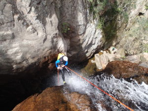 Canyoning sportif corse