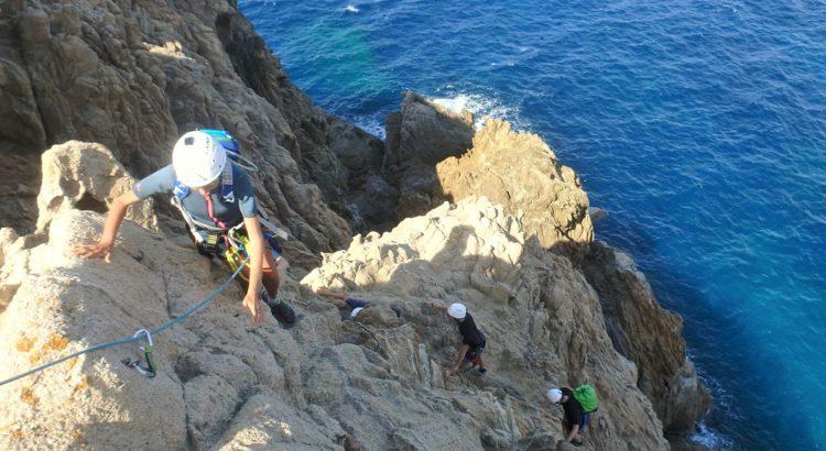 Via Cordata Via Ferrata Près de Calvi en Corse