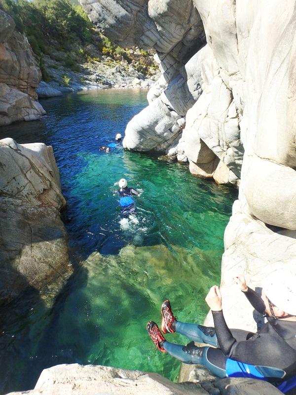Canyoning Fango Calvi