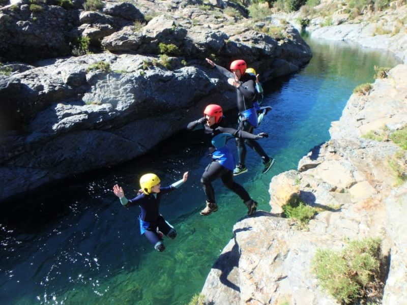 Canyoning Haute Corse