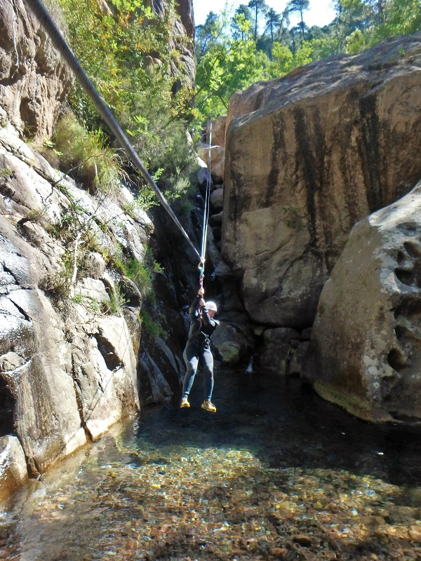 Canyoning Melaghia Calvi