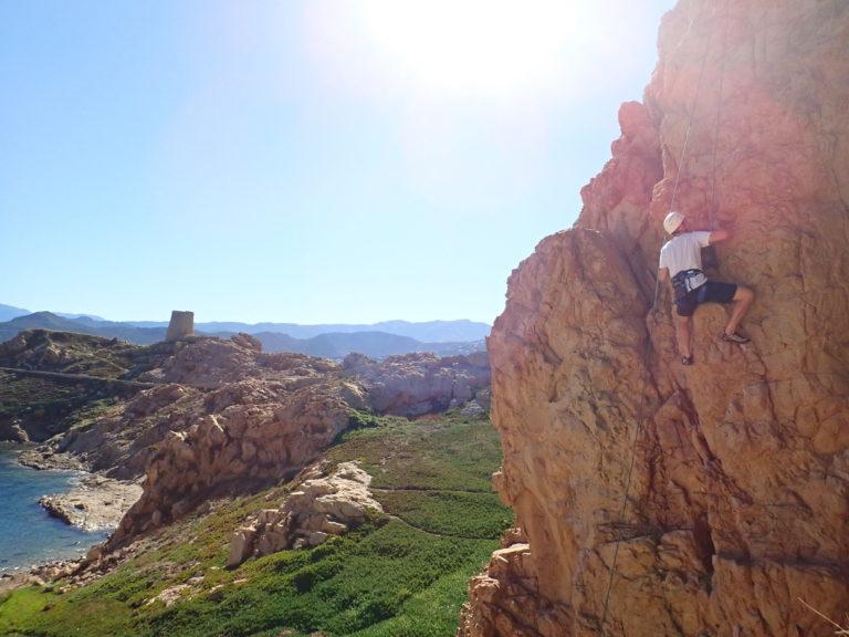 Rock Climbing initiation